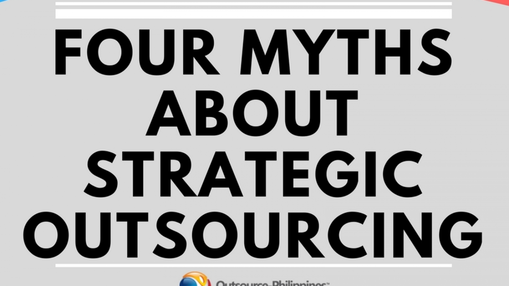 four myths about strategic outsourcing