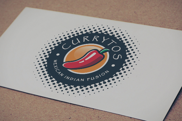 Logo of a chili for currytos