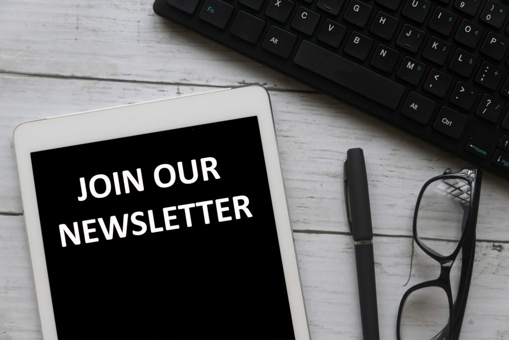 newsletters are examples of email marketing campaigns